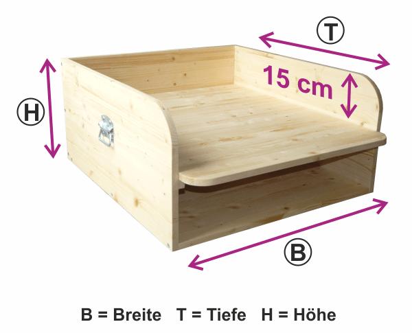 wickelablage mit ablage wickelaufsatz f r badewanne aus holz. Black Bedroom Furniture Sets. Home Design Ideas