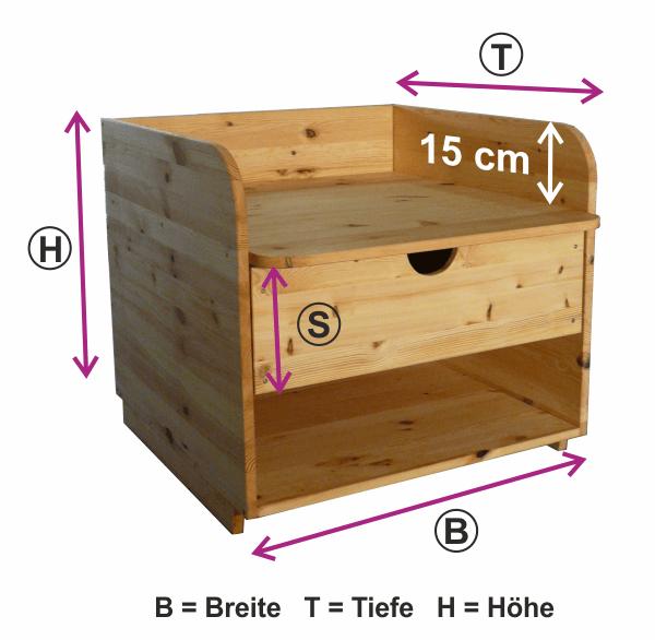 Wickelaufsatz für Badewanne mit Ablage & Schieber oben